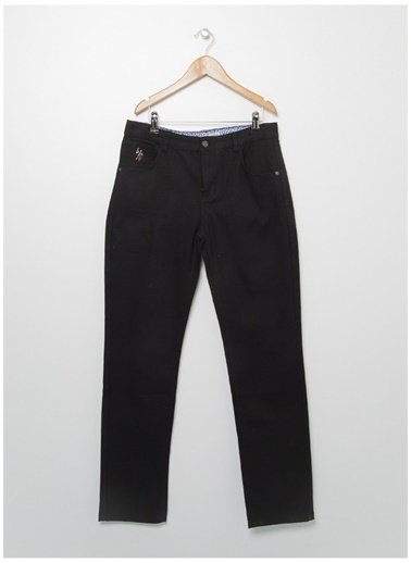 U.S. Polo Assn. U.S. Polo Assn.  Erkek Çocuk Chıno Pantolon Siyah